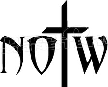 Notw Not Of This World Butterfly 2 Religious Decal Sticker