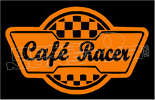 Cafe Racer 3 Decal Sticker
