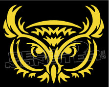 Owl Silhouette 5 Decal Sticker