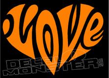 Love Words 2 Decal Sticker