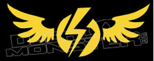 Electric Wings Decal Sticker