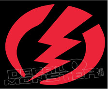 Electric Logo Decal Sticker