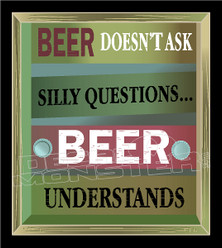 Beer Understands Decal Sticker