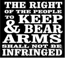Right to Bear Arms 11 Decal Sticker