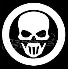Ghost Recon Special Forces Skull Decal Sticker