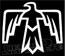 Thunderbird Native logo decal sticker
