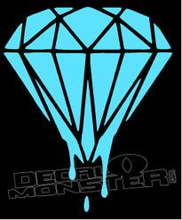 Diamond Supply co Drip Decal Sticker