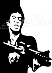 Scarface Silhouette 1 Decal Sticker