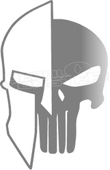 Spartan Punisher 1 Decal Sticker