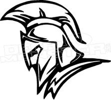 Spartan Silhouette 5 Decal Sticker