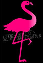 Flamingo Silhouette 2 Decal Sticker