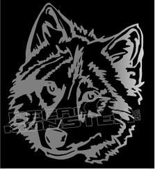 Timberland Wolf 1 Decal Sticker