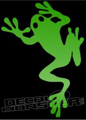 Gecko Silhouette 3 Decal Sticker