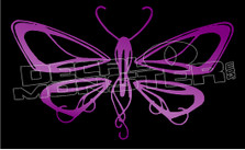 Butterfly Silhouette 8 Decal Sticker