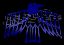 Raven Native 1 Decal Sticker