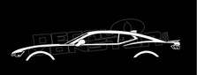 Chevrolet Camero (6th Gen) Silhouette Decal Sticker
