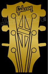 Gibsin Guitars Decal Sticker