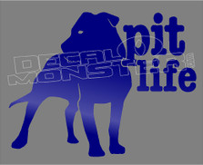 Pit Life 1 Decal Sticker