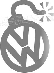 Volkswagen Bomb Decal Sticker