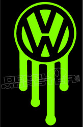 Dripping Volkswagen 1 Decal Sticker
