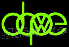 Volkswagen Dope 1 Decal Sticker