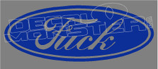 Ford Fuck Parody 1 Decal Sticker