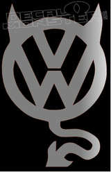 Volkswagen Devil 1 Decal Sticker