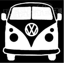 Volkswagen Van 12 Decal Sticker