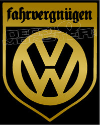 Vw Fahrvergnugen Crest 1 Decal Sticker Decalmonster Com There are no messages on farfegnugen's profile yet. vw fahrvergnugen crest 1 decal sticker
