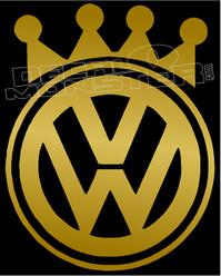 Volkswagen Crown King 1 Decal Sticker