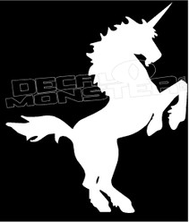 Unicorn Silhouette Decal Sticker