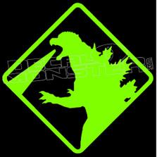 Godzilla Silhouette 1 Decal Sticker