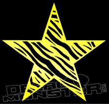 Star Zebra Skin Decal Sticker