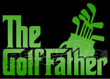 The Golf Father Decal Sticker