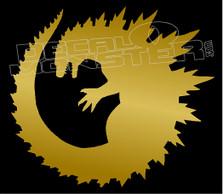Godzilla 7 Logo Decal Sticker