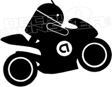 Android SuperBike Decal Sticker
