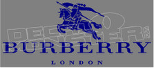Burberry London Decal Sticker