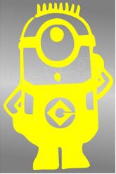 Despicable Me Minion 11 Decal Sticker