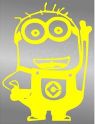 Despicable Me Minion 12 Decal Sticker