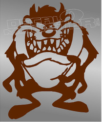 Tasmanian Devil 15 Taz Decal Sticker