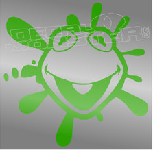 Kermit The Frog Silhouette 1 Decal Sticker