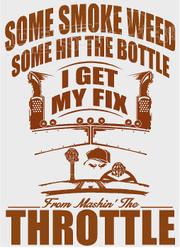 Mashin The Throttle Diesel Decal Sticker