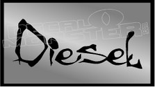 Diesel Die Cut Decal Sticker
