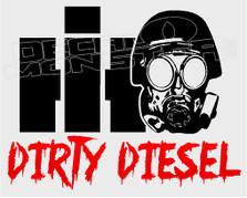 International Dirty Diesel 11 Decal Sticker