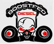 Boostfed Diesel 1 Decal Sticker