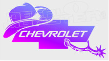 Chevrolet Cowboy Spurs Edition 1 Decal Sticker