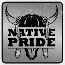 Native Pride decal sticker