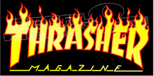 Thrasher Magazine Logo 1 Decal Sticker