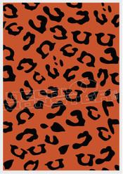 Leopard Print Camo Decal Sticker