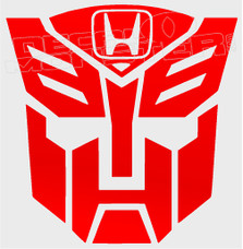 Honda Transformers JDM Decal Sticker
